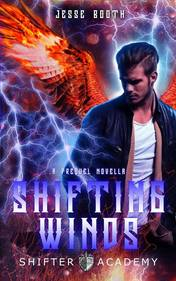 FREE when you sign up for the newsletter, Shifting Winds, the exciting prequel novella in the Shifter Academy series.